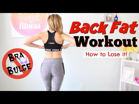 Back Fat Workout | Get Rid of Bra Bulge