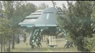 Inside Real Extraterrestrial Alien UFO Saucer Spaceship. See How It Defies Gravity, Space & Time