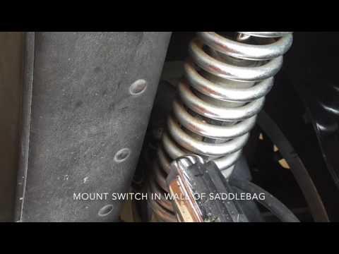 DIY Motorcycle Garage Door Opener