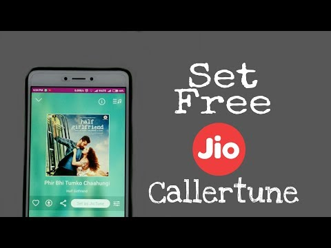 How to set Jio free callertune with Android | 2 Ways to set | in Hindi