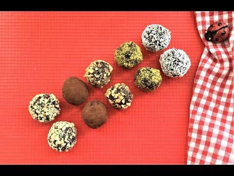 CHOCOLATE TRUFFLES RECIPE - Valentine's Day Special