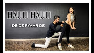 Hauli Hauli : De De Pyaar De - Ajay Devgn | Choreography Sumit Parihar (Badshah)