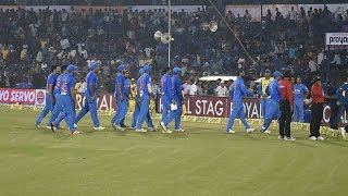 Shame for Indian cricket as crowd throws bottles in Cuttack
