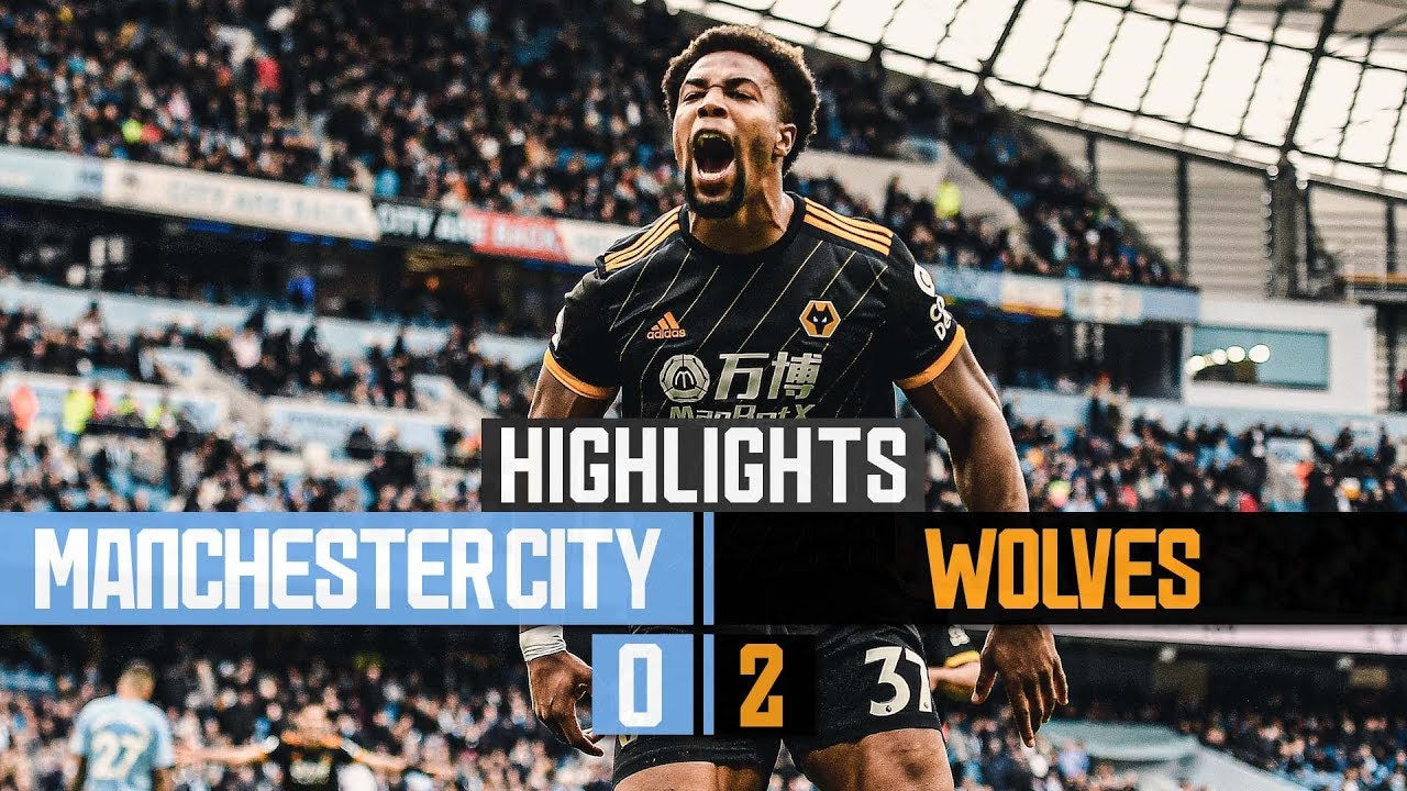 A win at the home of the champions! Manchester City 0-2 Wolves | Highlights