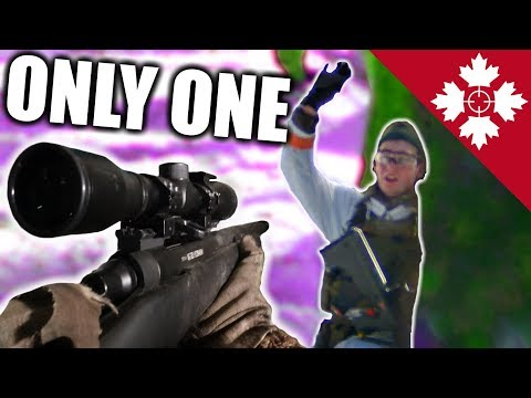 This Sniper ONLY Needs ONE shot!