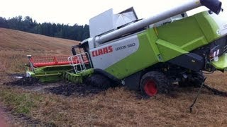 """Atlantis 1 ist versunken!"" - Fendt 936, 930 & Kettenbagger retten Claas Lexion in Lettland!"