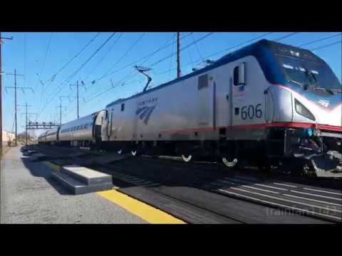Winter Break on the NEC: Amtrak at Princeton Junction and Prospect Park
