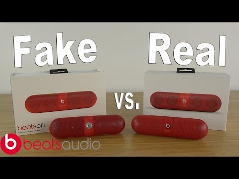 REAL Beats Pill 2.0 vs FAKE Beats Pill 2.0 | How To Tell the Difference | Should You Buy The Fakes?