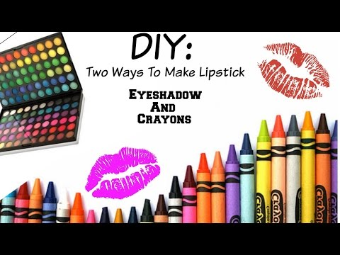 Diy : Two Ways To Make Your Own Lipstick