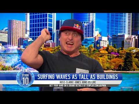 Ross Clarke-Jones Shares Stories From The Surf | Studio 10