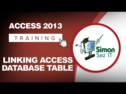 How to Link a Microsoft Access 2013 Database Table to Another Access Database Table