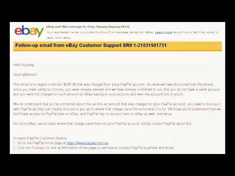 ebay and paypal charge in mistake and do not give back refund