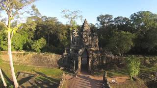 """Drone Footage of Angkor Wat """" The Temple City""""  in Siem Reap Cambodia"""