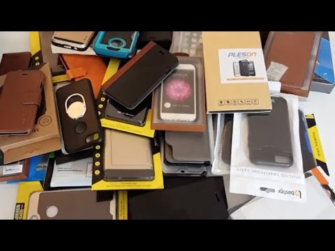 My Collection of Phone Cases- Most of them Free!!