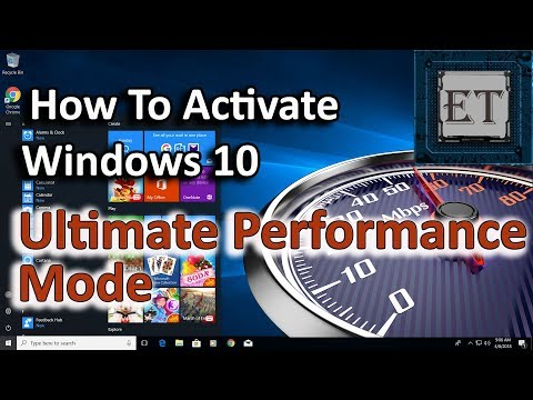 How to Enable Ultimate Performance Mode In Windows 10 (Enhance Gaming)