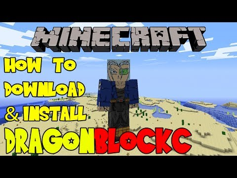Minecraft: How to Download & Install Dragon Block C on Mac & PC Tutorial (Dragon Ball Z Mod)
