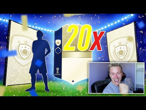 20x INSANE WORLD CUP ICON PACKS! - FIFA 18 World Cup