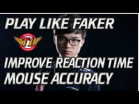 How To Improve Your Reaction Time & Mouse Accuracy - FAKERS TRAINING METHOD!