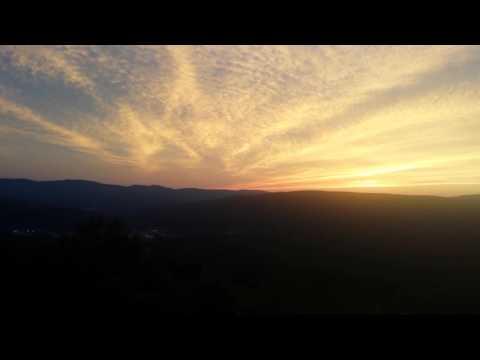 July 4th sky. Western Summit rte 2.