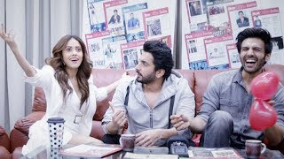 Fun moments with Kartik Aaryan, Nushrat Bharucha and Sunny Singh