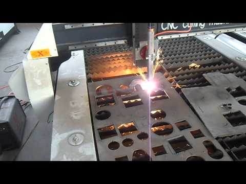CNC plasma cutting machine for thick steel plate