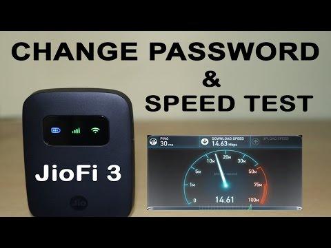 JioFi 3 Speed TEST | How To Change SSID & Password | Jiofi.local.html Settings Explained
