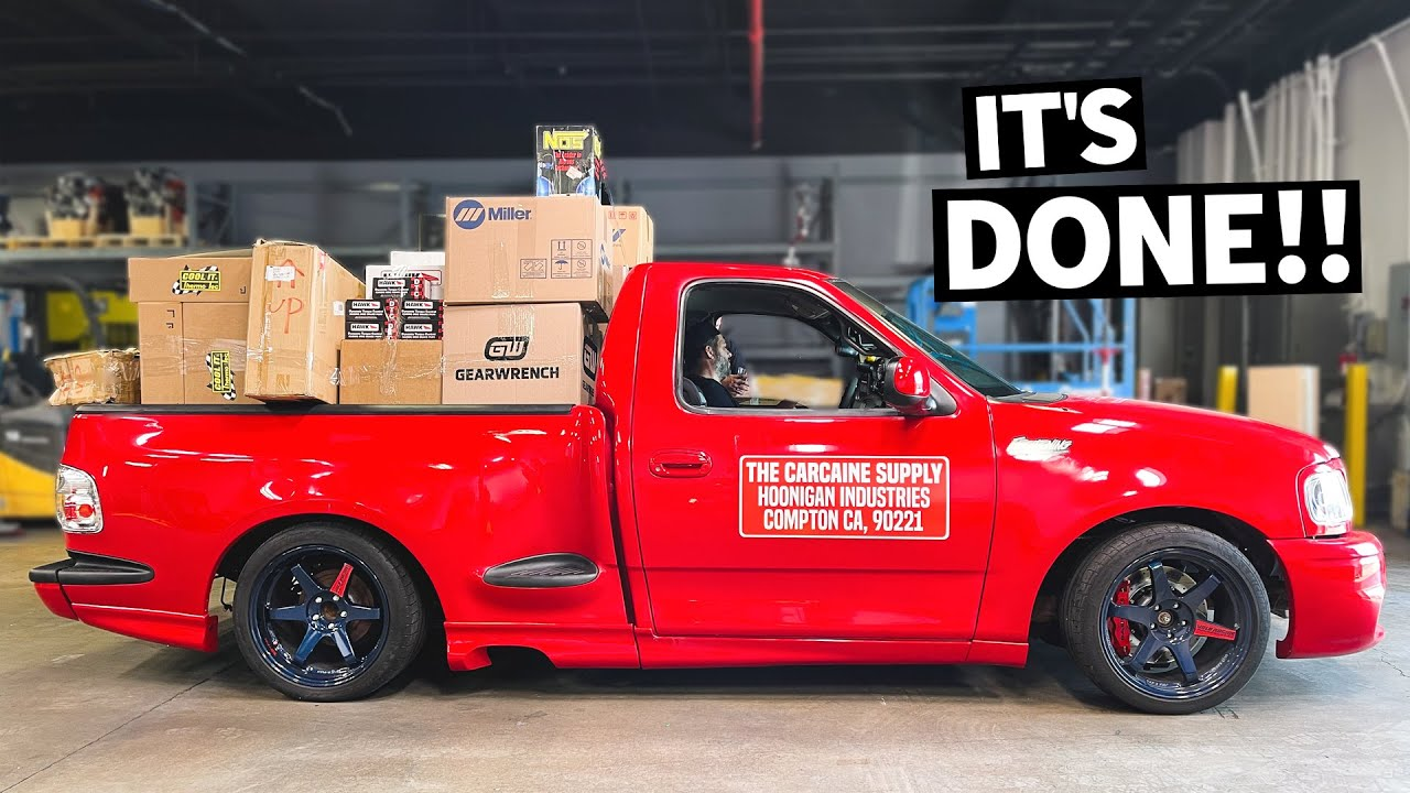 We Finish Lord Frightening! Our 500hp 2JZ Swapped Ford F-150 Fast & the Furious Homage Shop Truck