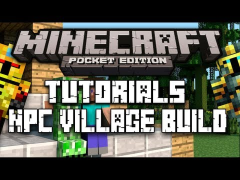 Minecraft PE:How to build NPC Forge/Blacksmith