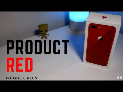 Introducing iPhone 8 Plus in Product Red. Delicious