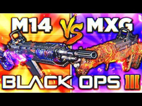 M14 vs MX GARAND... THE ULTIMATE FACE OFF! 😱 (Black Ops 3 New DLC Weapon Update)
