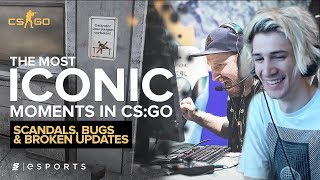 xQc Reacts to The Most ICONIC Scandals, Bugs and Broken Updates in CS:GO History with Chat!