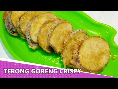 Resep Terong Goreng Crispy Mudah Banget
