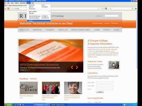Firefox pop up blocker