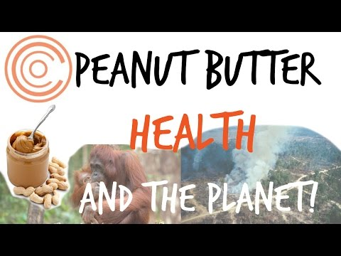 Peanut Butter, Health, and the Planet! (avoiding sugar and palm oil)
