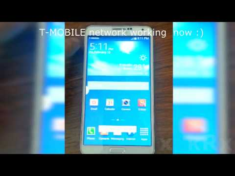 *How to EASY unlock code AT&T Samsung galaxy note 3 for T-Mobile