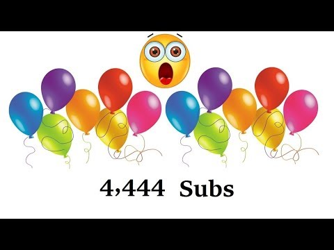 4444 SUBSCRIBERS :)