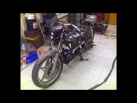 All Electric Motorcycle Project