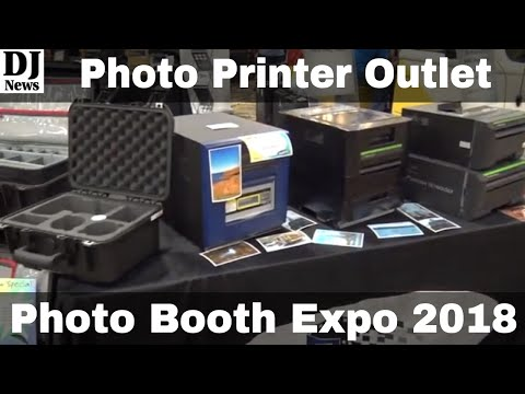 Photo Printer Outlet PPO Booth Overview From Photo Booth Expo 2018 | Disc Jockey News
