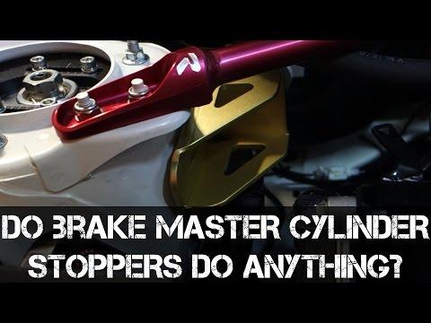 Do Brake Master Cylinder Stoppers do anything?