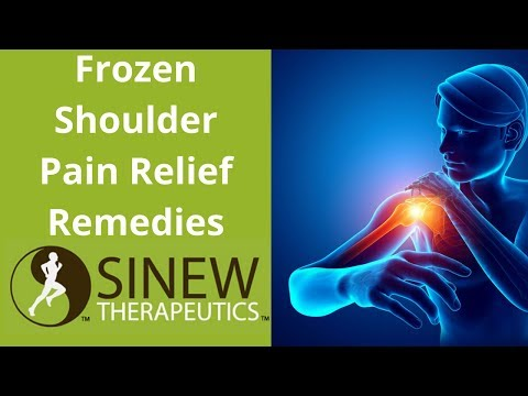 Frozen Shoulder Pain Relief Remedies