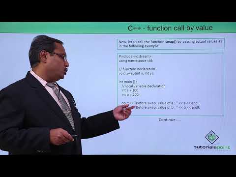 C++ - Function Call By Value