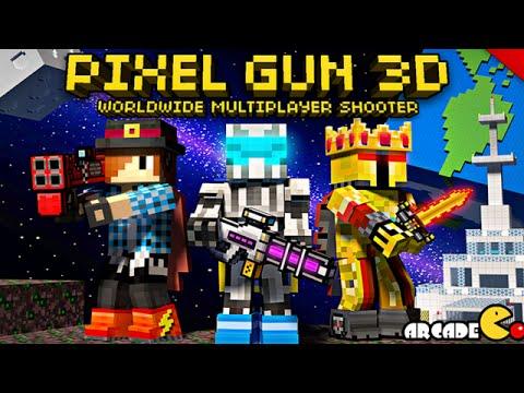 Pixel Gun 3D Multiplayer Shooter - Team Fight Nuclear City