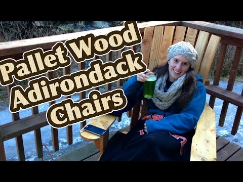Making Adirondack Chairs Out of Pallets