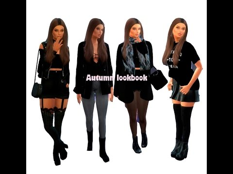 The Sims 4 - CAS - ESTILO ALEATÓRIO OUTONO + FULL CC LIST