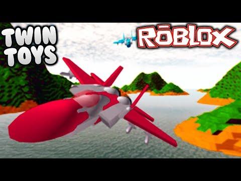 Twin Toys Plays Roblox:  Jet Wars