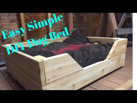 Simple Easy Dog bed - Home reno Ep2