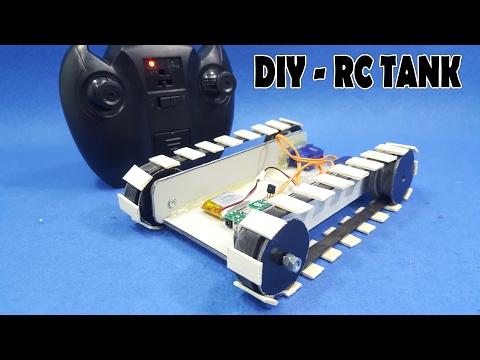 How To Make A RC Tank - v3 - DIY RC Car Simple