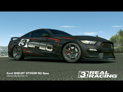 Real Racing 3 - FORD Shelby GT350R - R3 SPEC #01