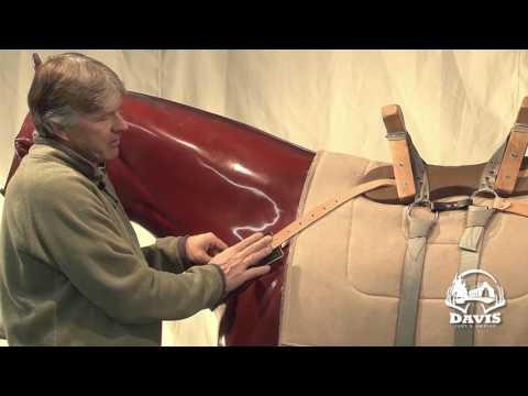 Leather Pack Saddle