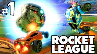 CALCIO CON LE.. MACCHINE?! - Rocket League [Ep.1]
